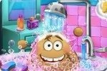 Pou moet in Bad